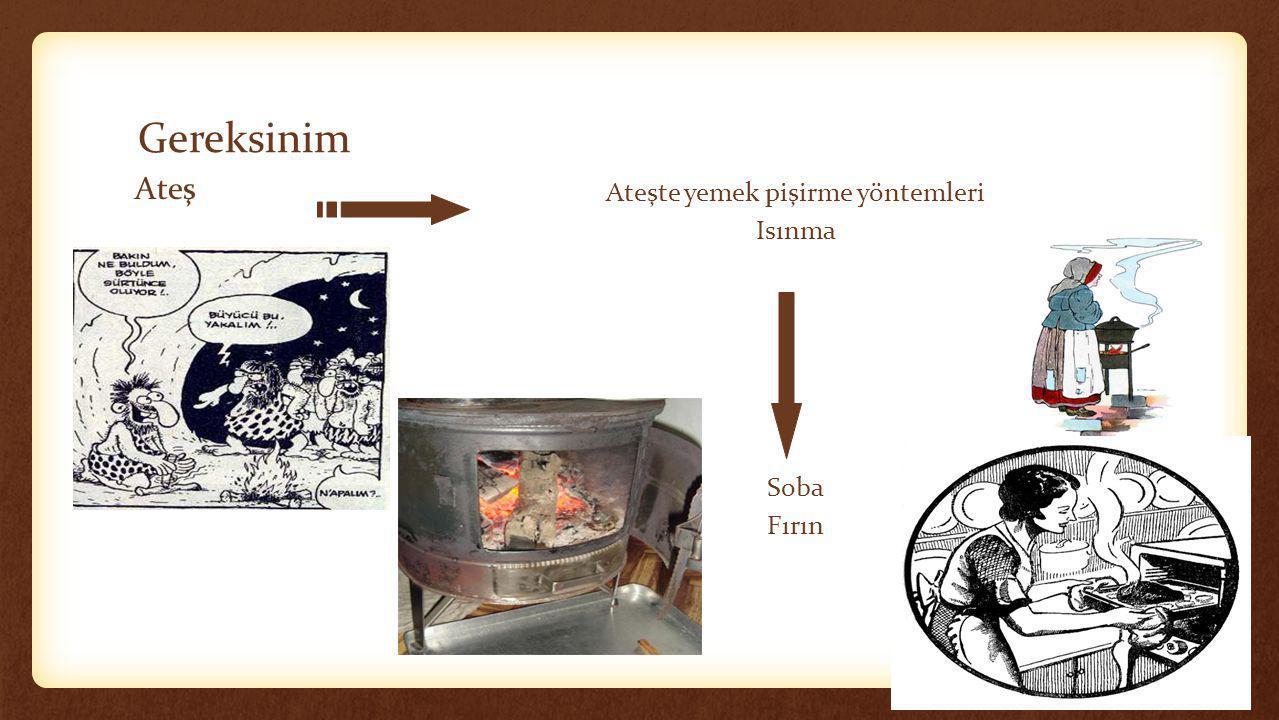 Ateşte yemek pişirme yöntemleri