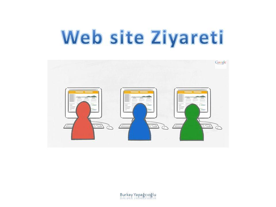 Web site Ziyareti Burkay Yapağcıoğlu