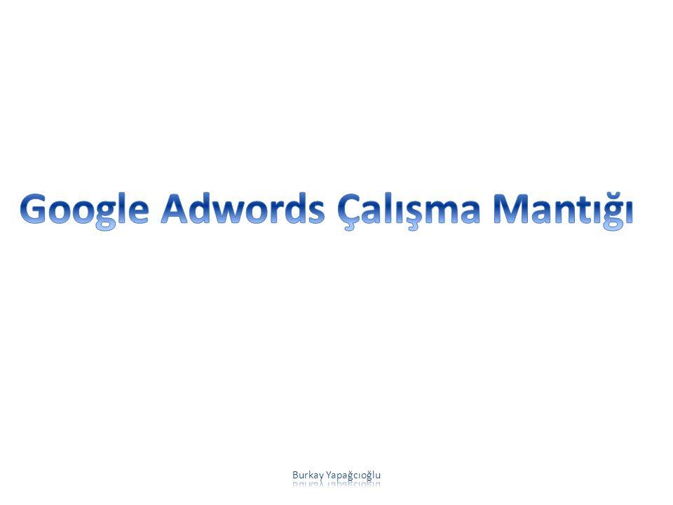 Google Adwords Çalışma Mantığı