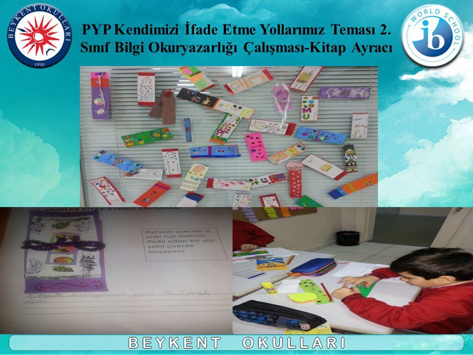 PYP Kendimizi İfade Etme Yollarımız Teması 2.