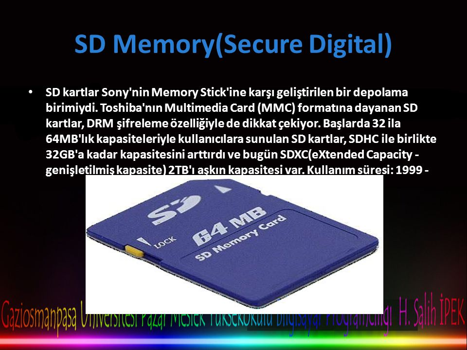 SD Memory(Secure Digital)