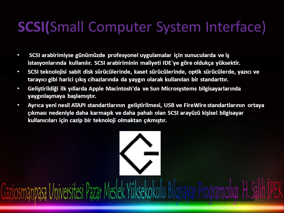 SCSI(Small Computer System Interface)