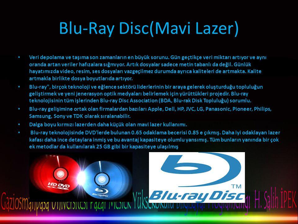 Blu-Ray Disc(Mavi Lazer)