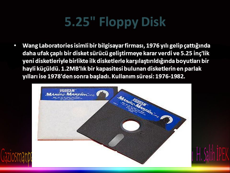 5.25 Floppy Disk