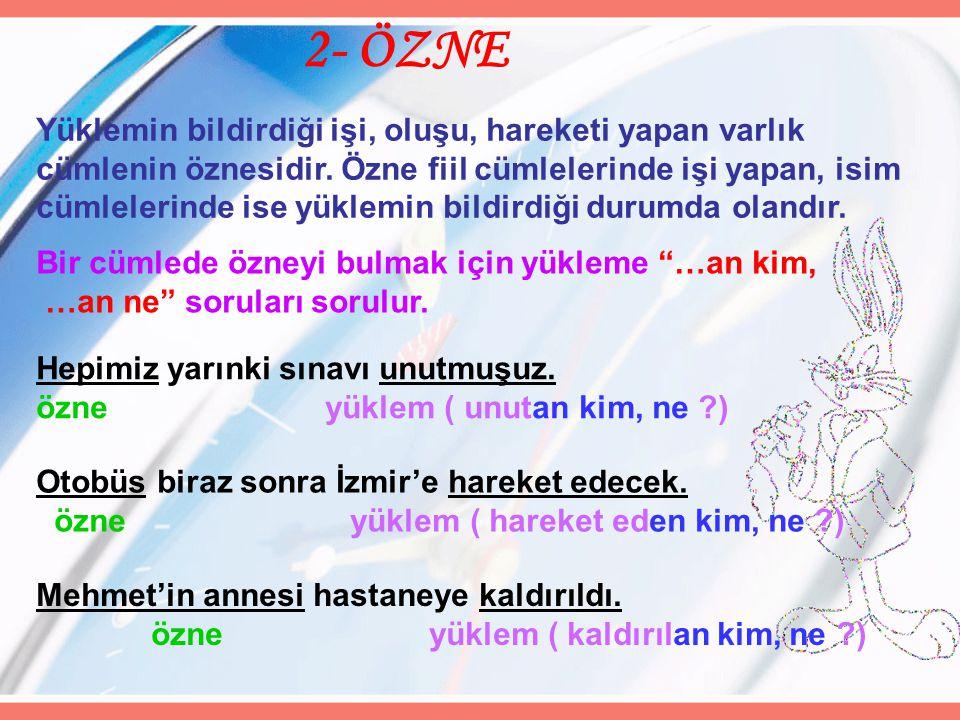 2- ÖZNE