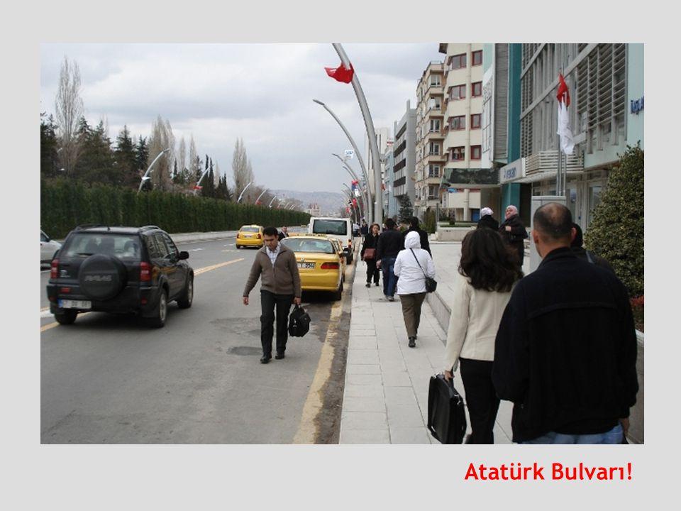 Atatürk Bulvarı!