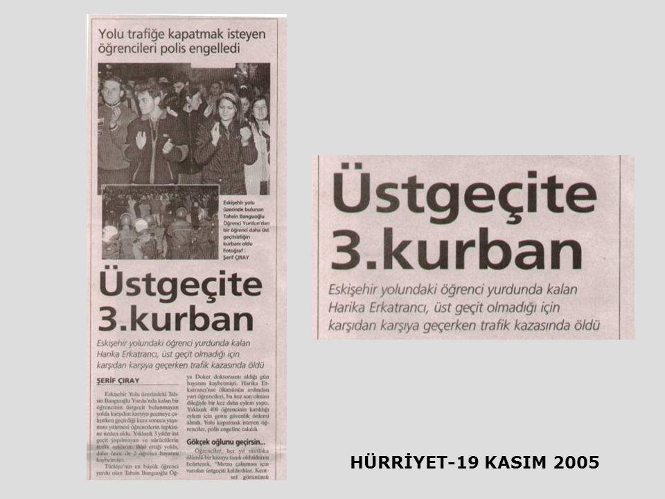 HÜRRİYET-19 KASIM 2005