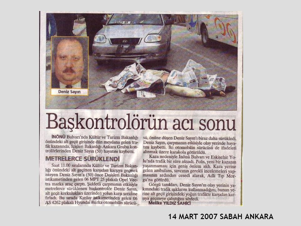 14 MART 2007 SABAH ANKARA
