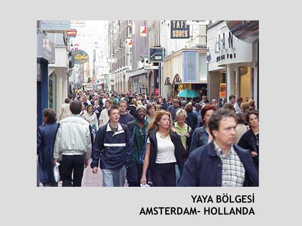 YAYA BÖLGESİ AMSTERDAM- HOLLANDA