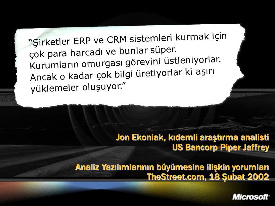 Jon Ekoniak, kıdemli araştırma analisti US Bancorp Piper Jaffrey