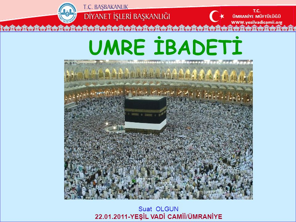 22.01.2011-YEŞİL VADİ CAMİİ/ÜMRANİYE