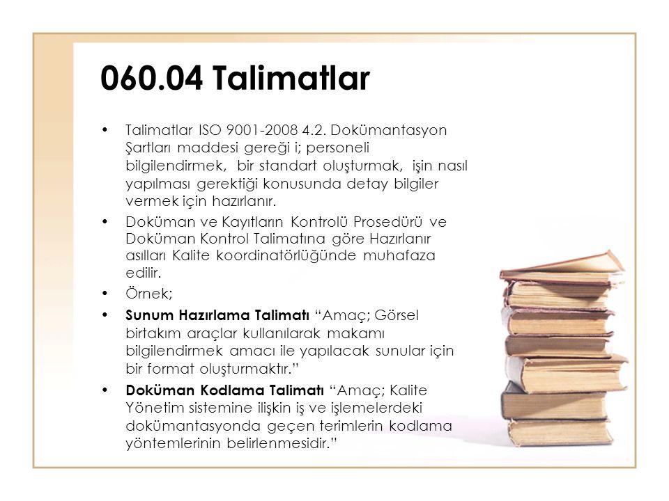 060.04 Talimatlar