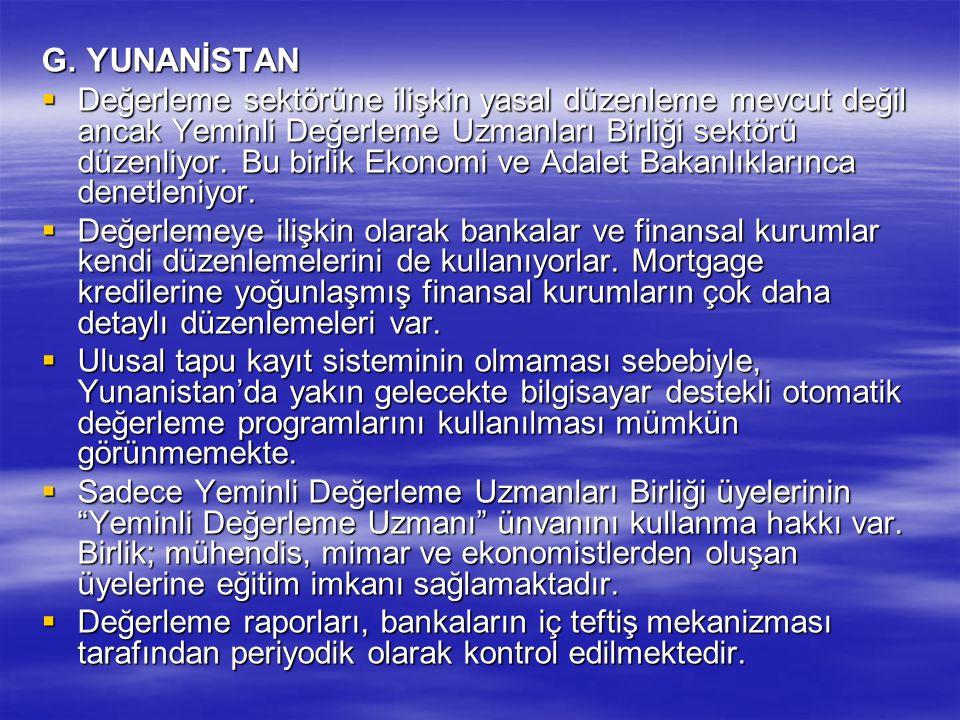 G. YUNANİSTAN