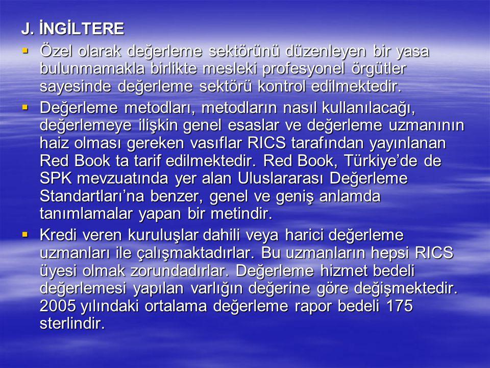 J. İNGİLTERE