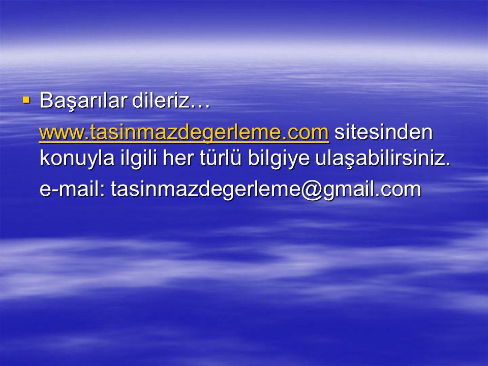 Başarılar dileriz… www.tasinmazdegerleme.com sitesinden konuyla ilgili her türlü bilgiye ulaşabilirsiniz.