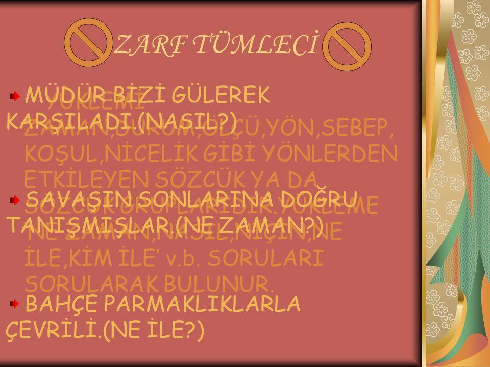 ZARF TÜMLECİ MÜDÜR BİZİ GÜLEREK KARŞILADI.(NASIL )