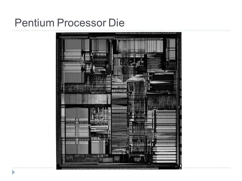 Pentium Processor Die