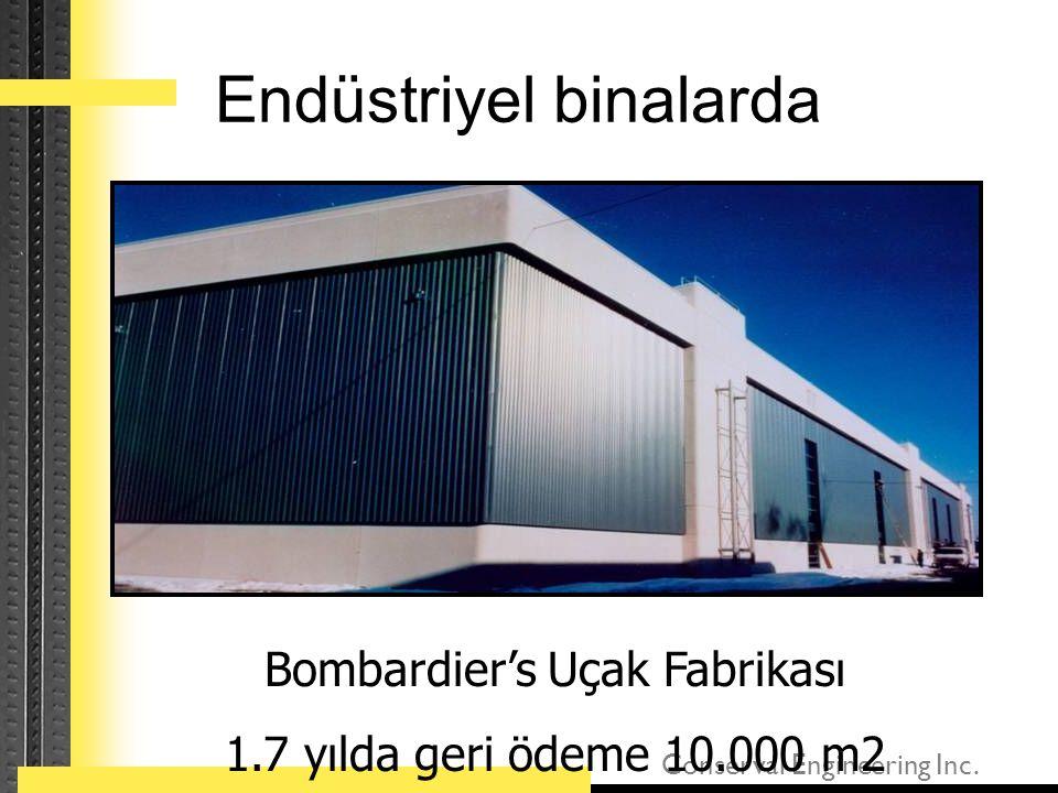 Endüstriyel binalarda