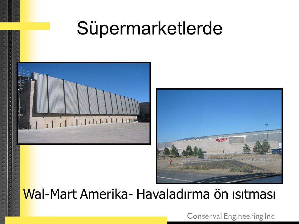 Wal-Mart Amerika- Havaladırma ön ısıtması