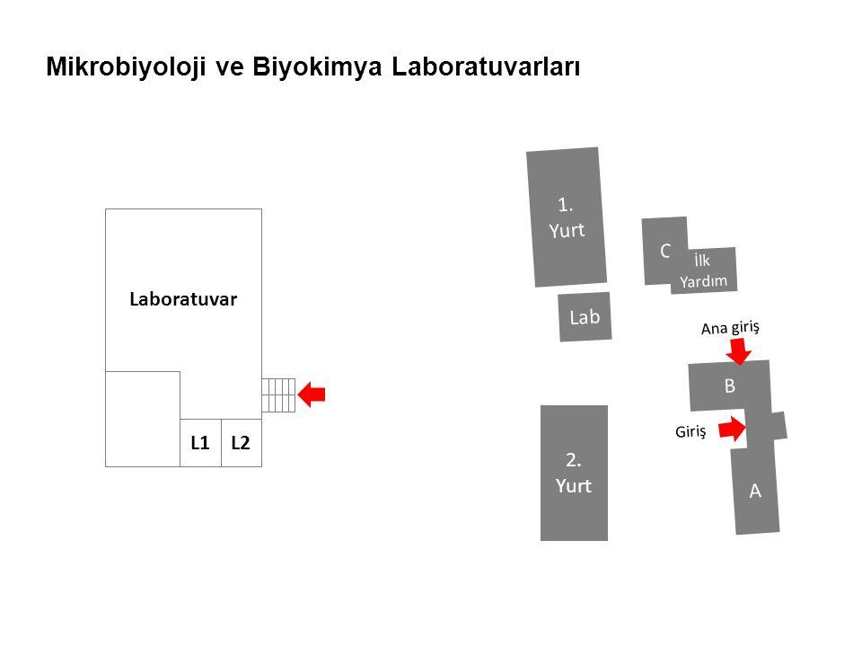 Mikrobiyoloji ve Biyokimya Laboratuvarları