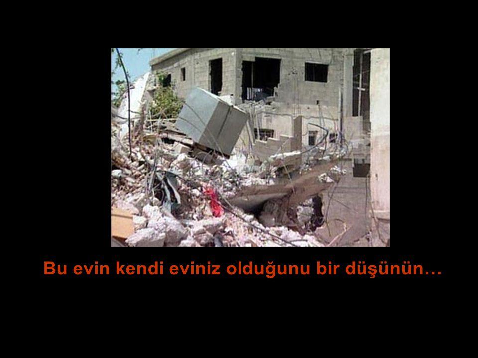 Bu evin kendi eviniz olduğunu bir düşünün…
