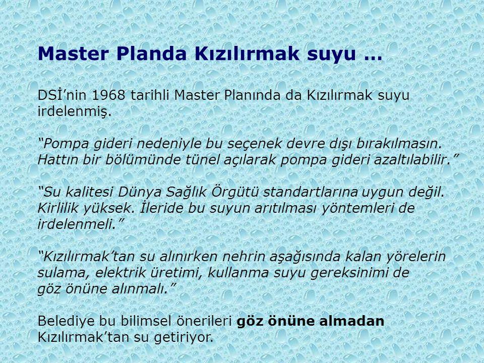Master Planda Kızılırmak suyu …