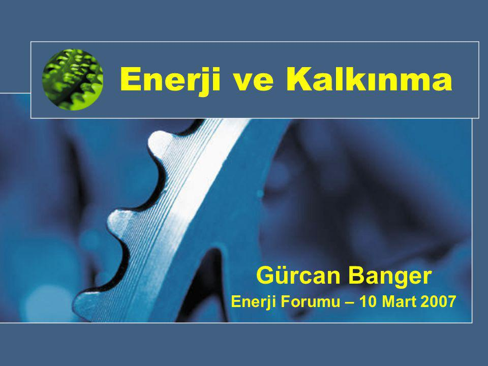 Gürcan Banger Enerji Forumu – 10 Mart 2007