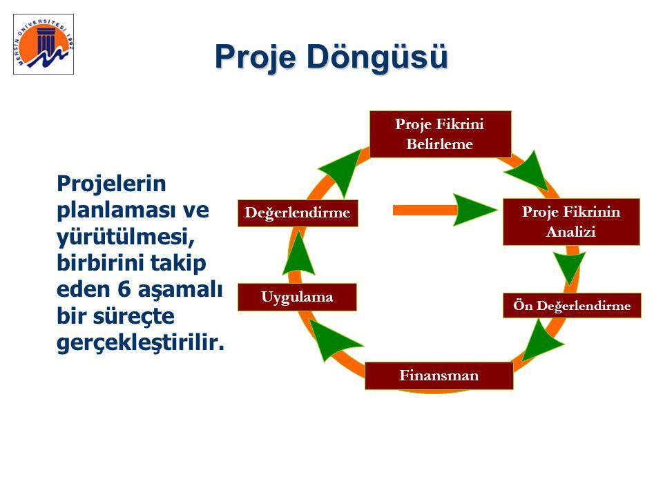 Proje Fikrinin Analizi