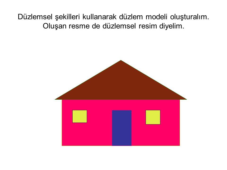 Düzlemsel şekilleri kullanarak düzlem modeli oluşturalım