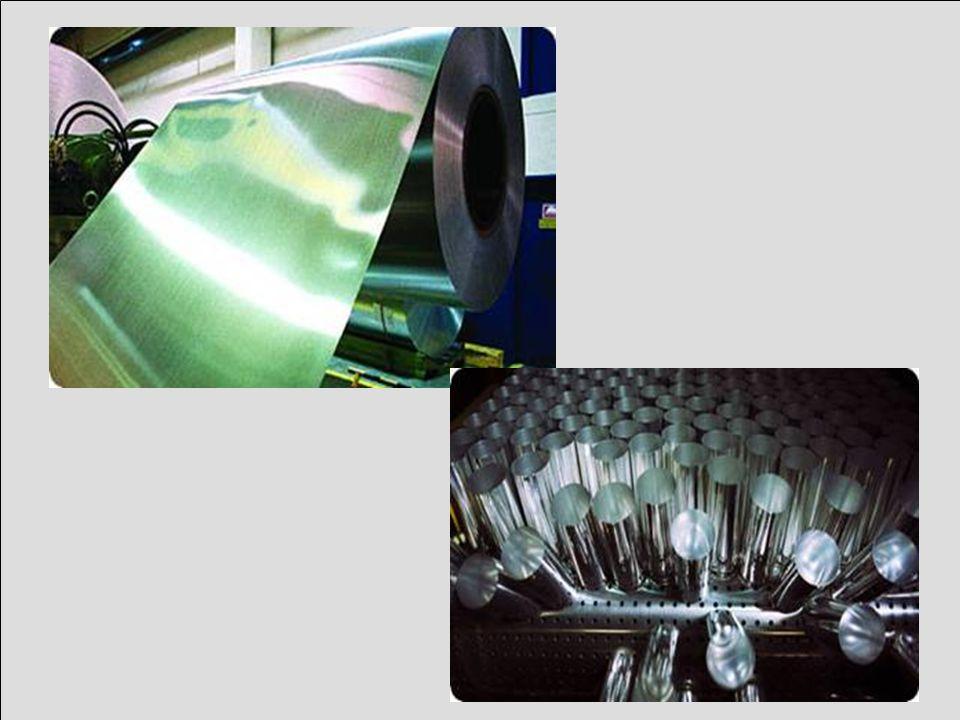 Eriyik haline getirilen metaller, geniş ve büyük metal blokları haline getirilerek hammadde haline dönüştürülürler ve farklı ürünler yapılmak üzere gönderilirler.