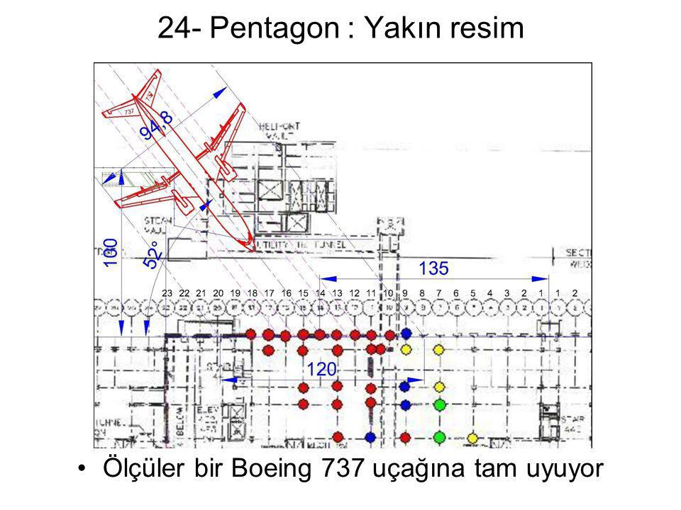 24- Pentagon : Yakın resim