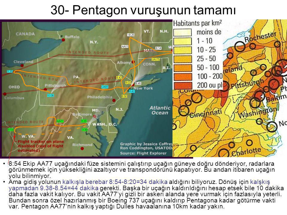 30- Pentagon vuruşunun tamamı