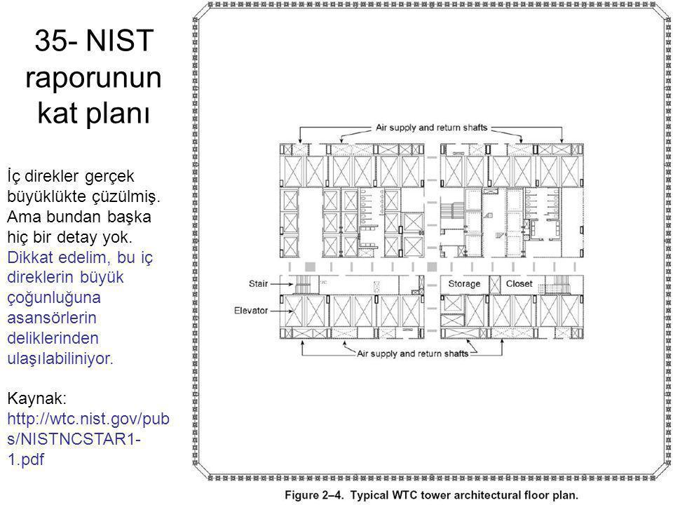35- NIST raporunun kat planı