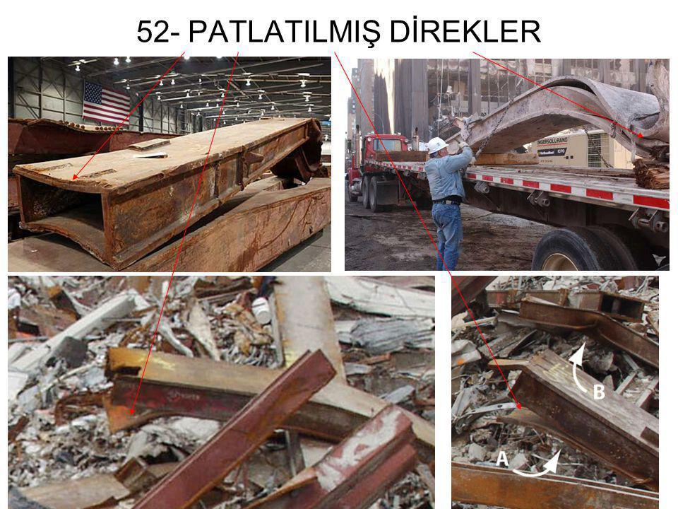 52- PATLATILMIŞ DİREKLER