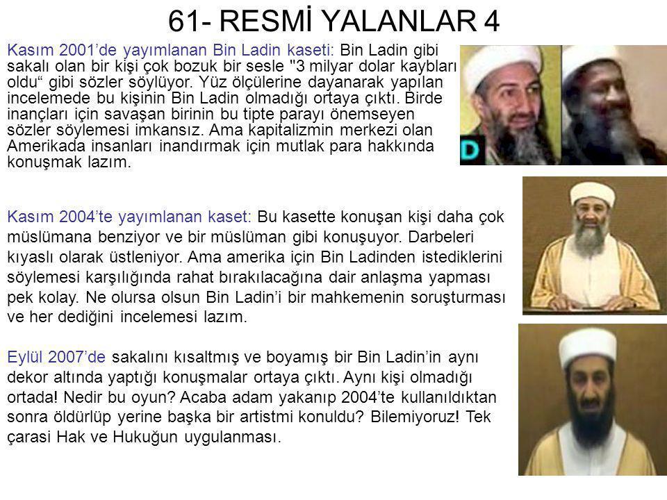 61- RESMİ YALANLAR 4
