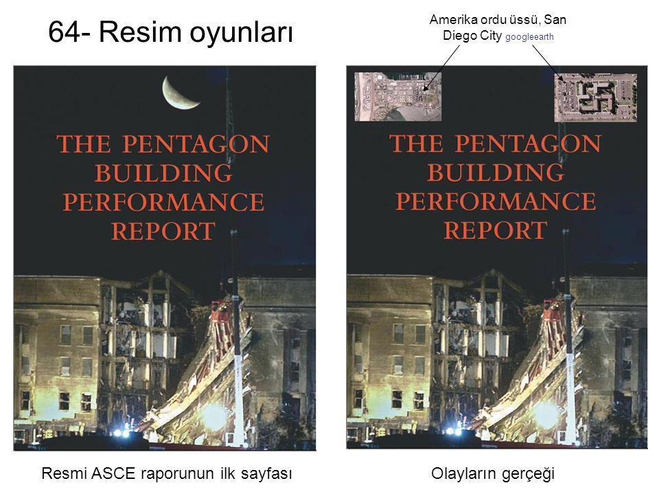 64- Resim oyunları Resmi ASCE raporunun ilk sayfası Olayların gerçeği