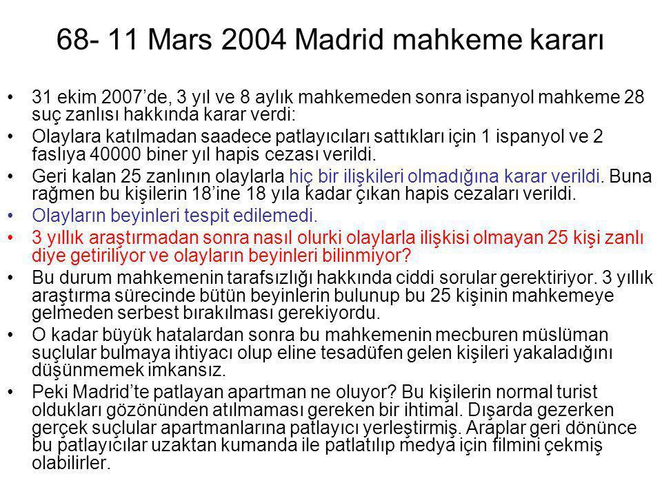 68- 11 Mars 2004 Madrid mahkeme kararı