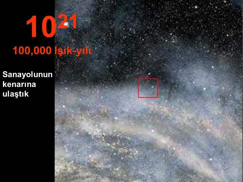 1021 100,000 Işık-yılı Sanayolunun kenarına ulaştık