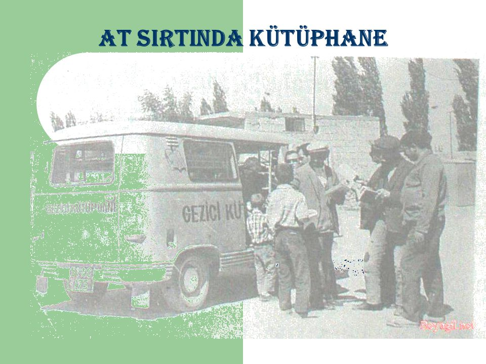 AT SIRTINDA KÜTÜPHANE