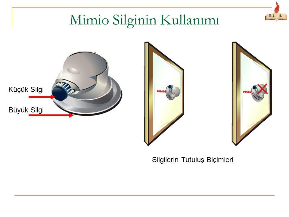 Mimio Silginin Kullanımı