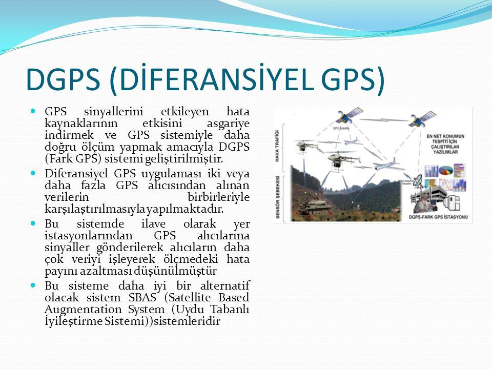DGPS (DİFERANSİYEL GPS)