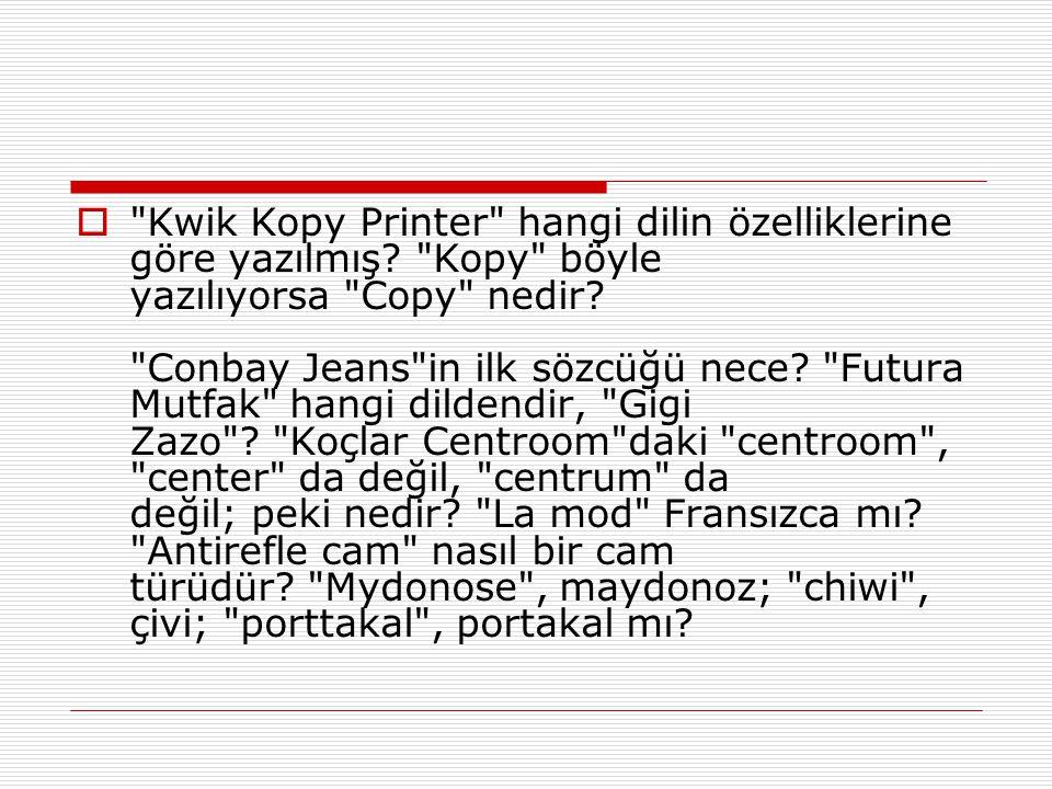 Kwik Kopy Printer hangi dilin özelliklerine göre yazılmış