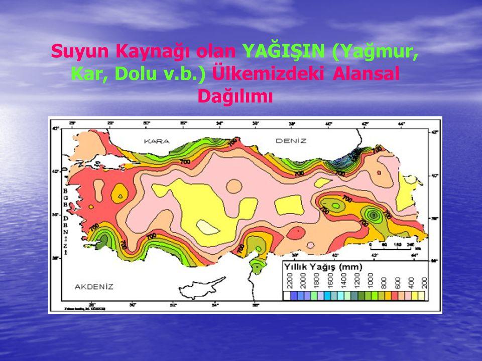 Suyun Kaynağı olan YAĞIŞIN (Yağmur, Kar, Dolu v. b