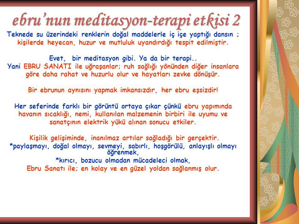 ebru'nun meditasyon-terapi etkisi 2