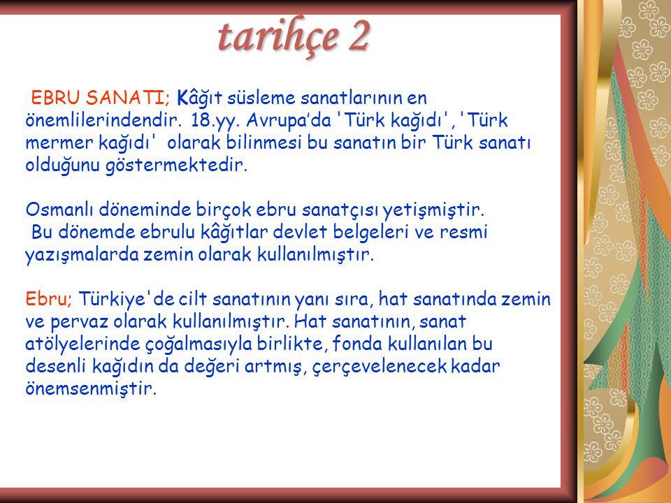 tarihçe 2