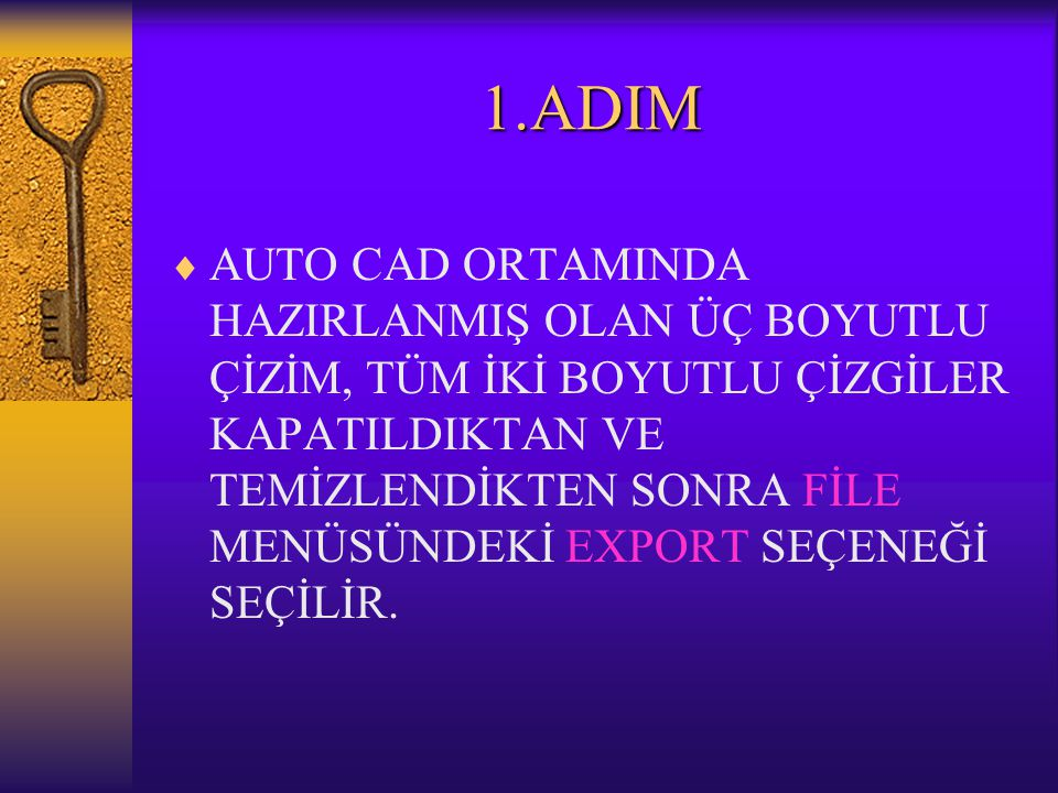 1.ADIM