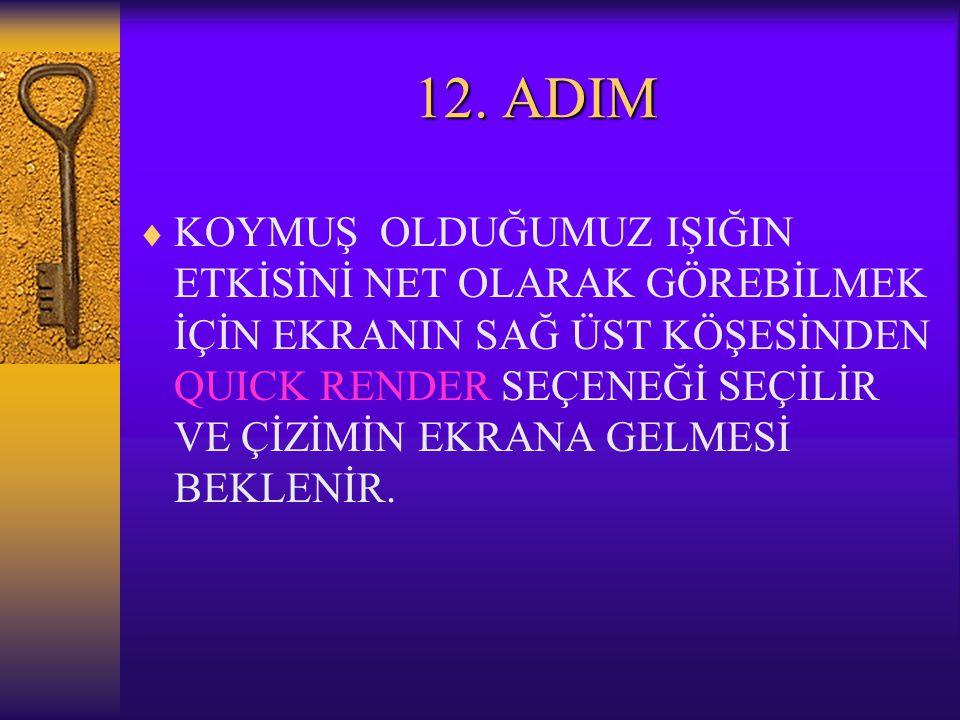 12. ADIM