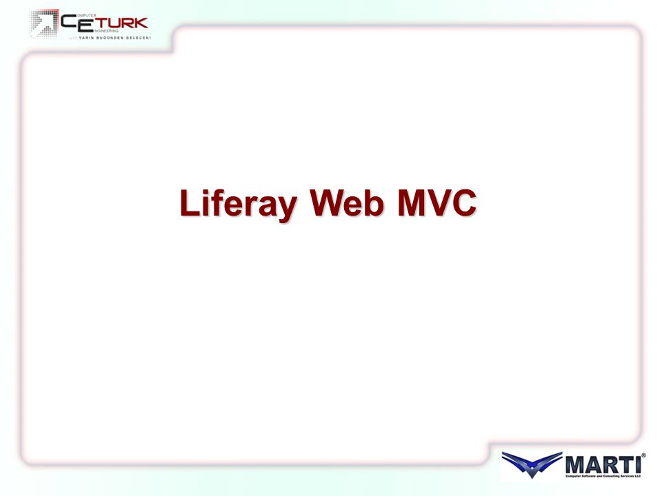 Liferay Web MVC