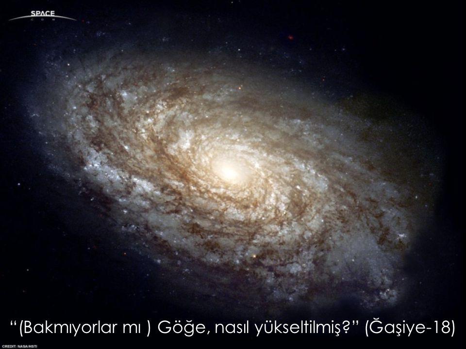 (Bakmıyorlar mı ) Göğe, nasıl yükseltilmiş (Ğaşiye-18)