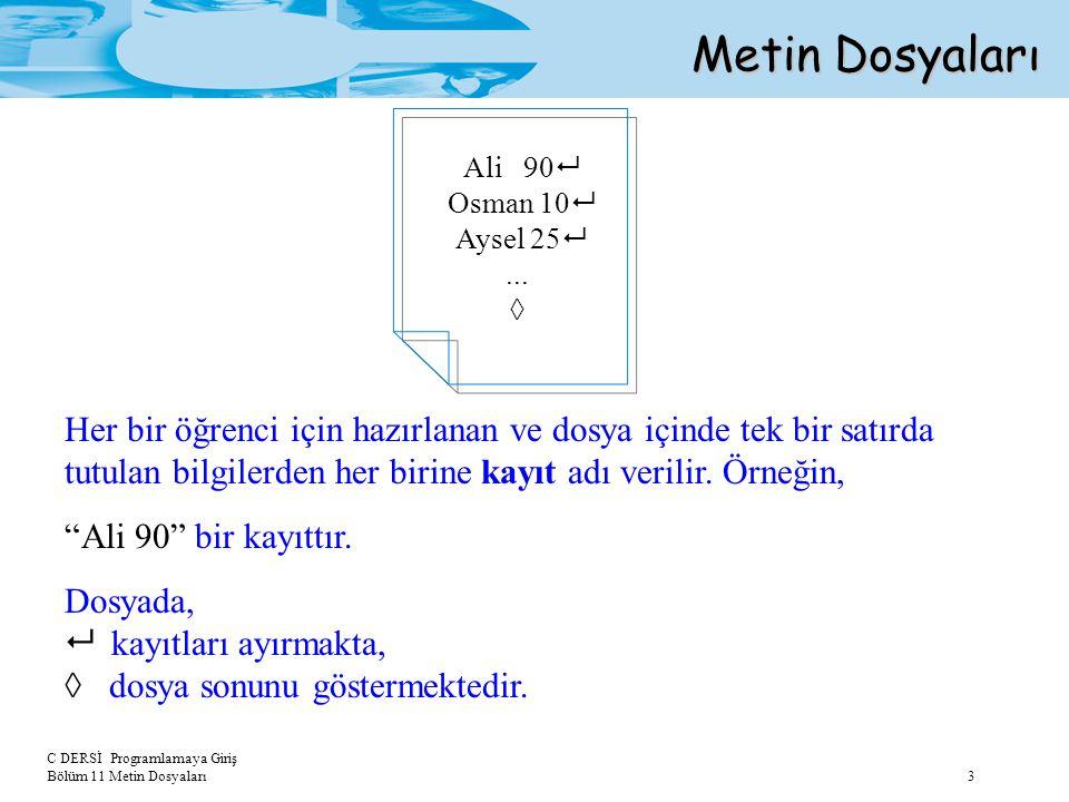 Metin Dosyaları Ali 90 Osman 10 Aysel 25 ... ◊